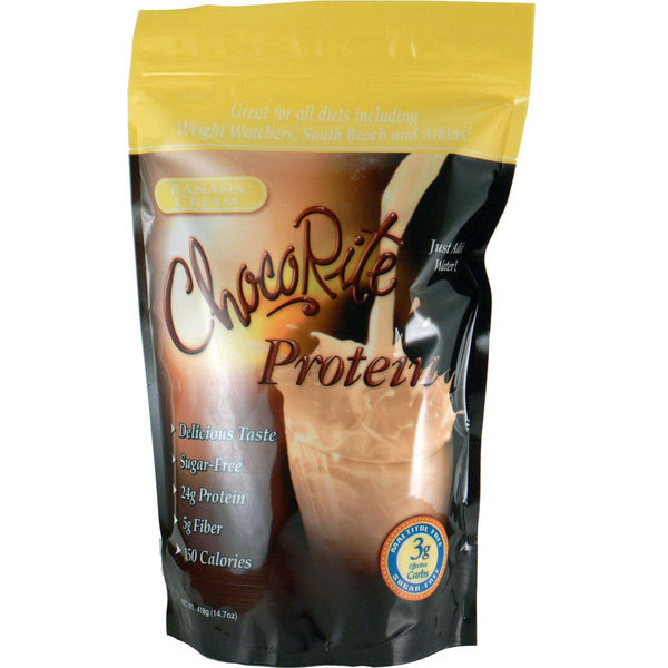 ChocoRite Protein Shake Mix Banana Cream
