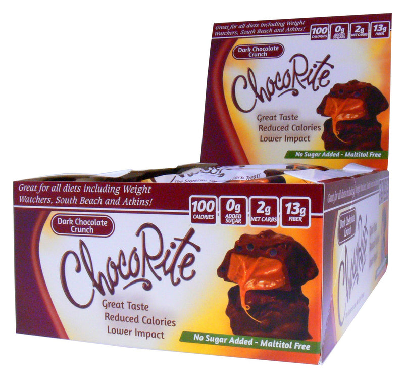 ChocoRite Dark Chocolate Crunch Box of 16