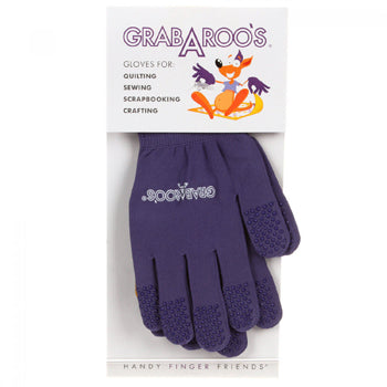 Grab A Roo Quilting Gloves - Size 10 (XL)