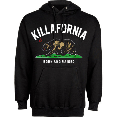 BORN AND RAISED SWEATSHIRT