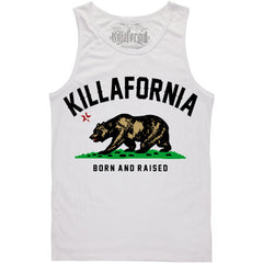 BORN AND RAISED TANK TOP