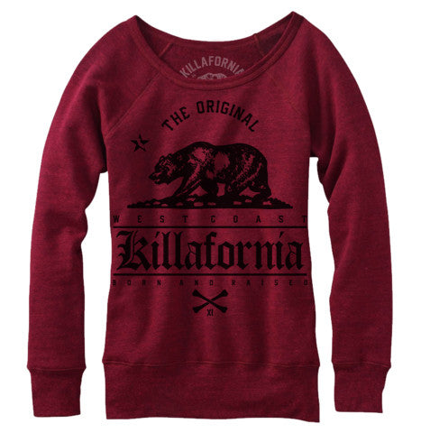 ORIGINAL BEAR WOMENS CREWNECK