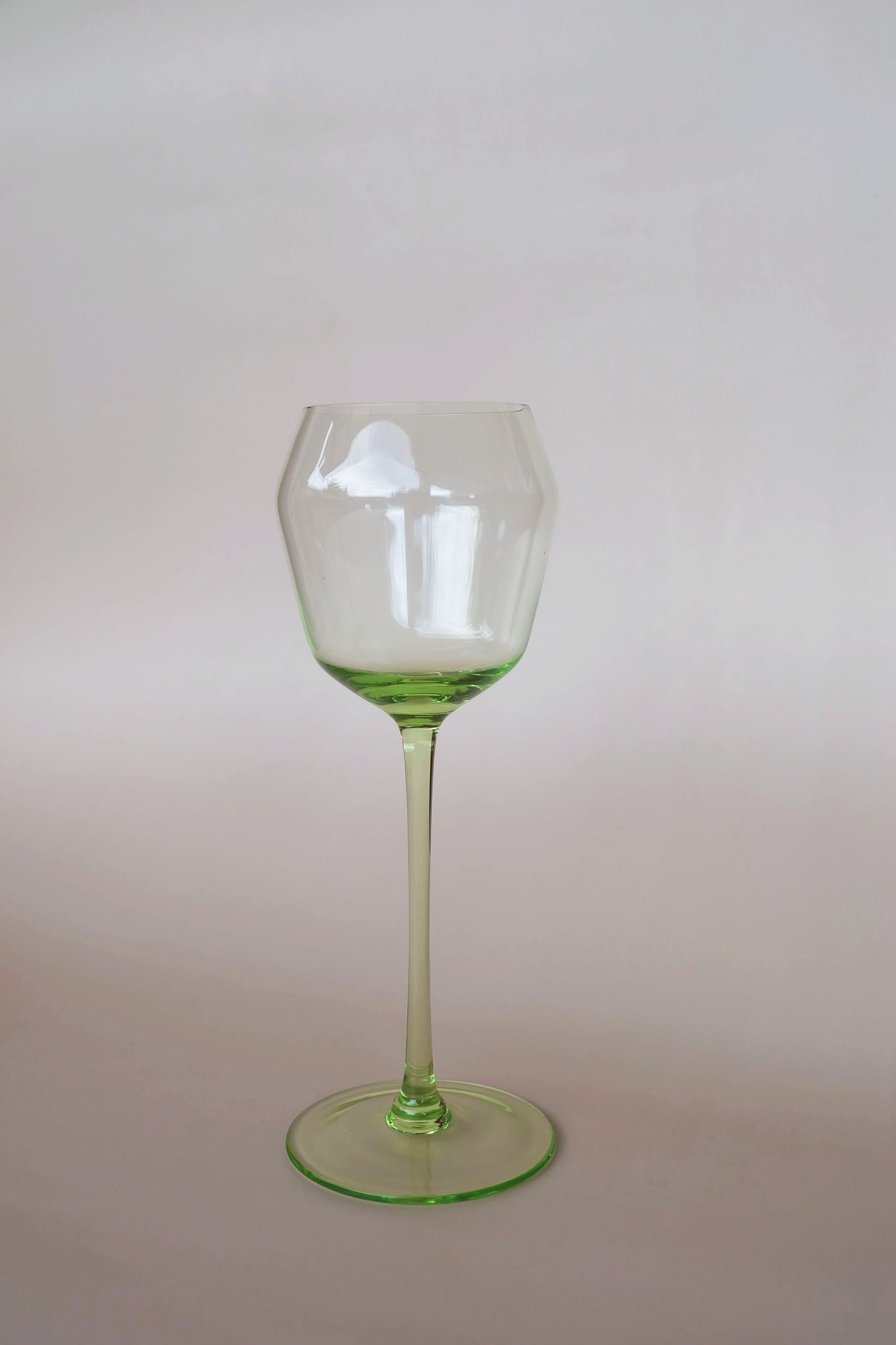 Aesthetic Minimal Tinted Wine Glass