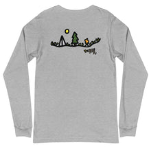 Load image into Gallery viewer, Go Camping Long Sleeve w/Design on Back (Unisex)