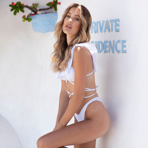 Load image into Gallery viewer, Sofia | Bikini Top White
