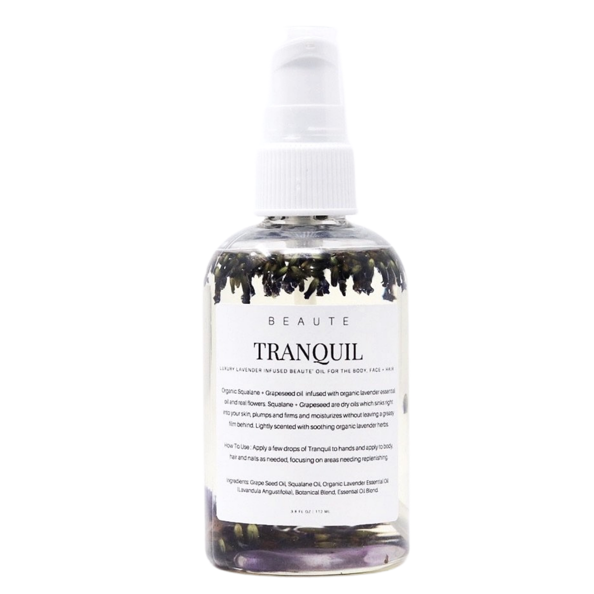 "Lavender ""Tranquil"" Body Oil"