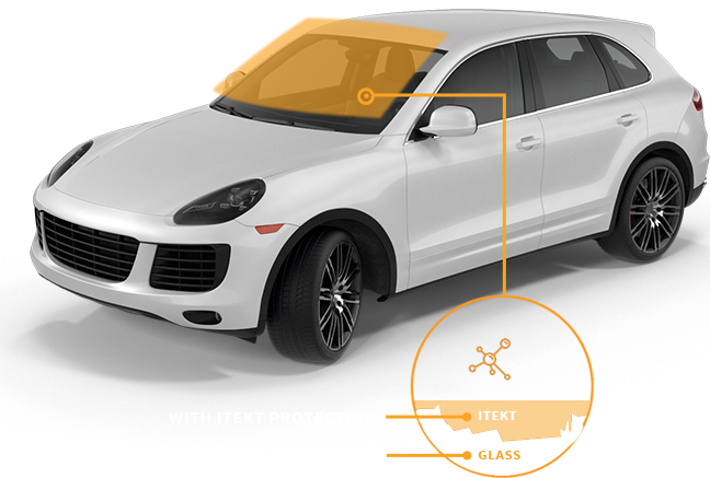luxury suv with itekt windshield science explanation