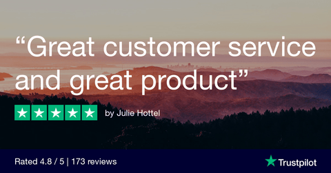 """Great customer service and great product"""