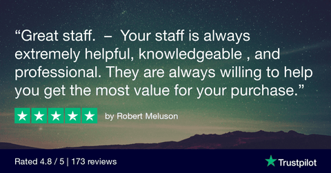 Your staff is always extremely helpful, knowledgeable , and professional. They are always willing to help you get the most value for your purchase.