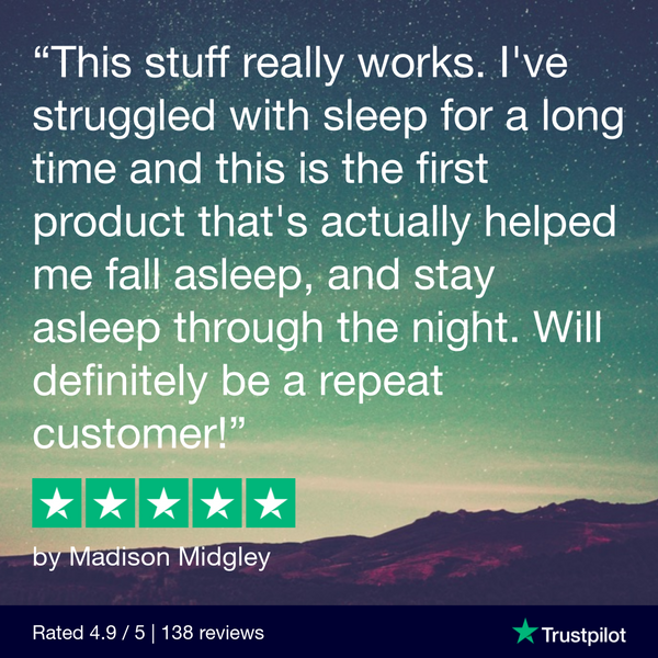 Hemp Oil Sleep Soft Gels (750mg); Review by Madison Midgley