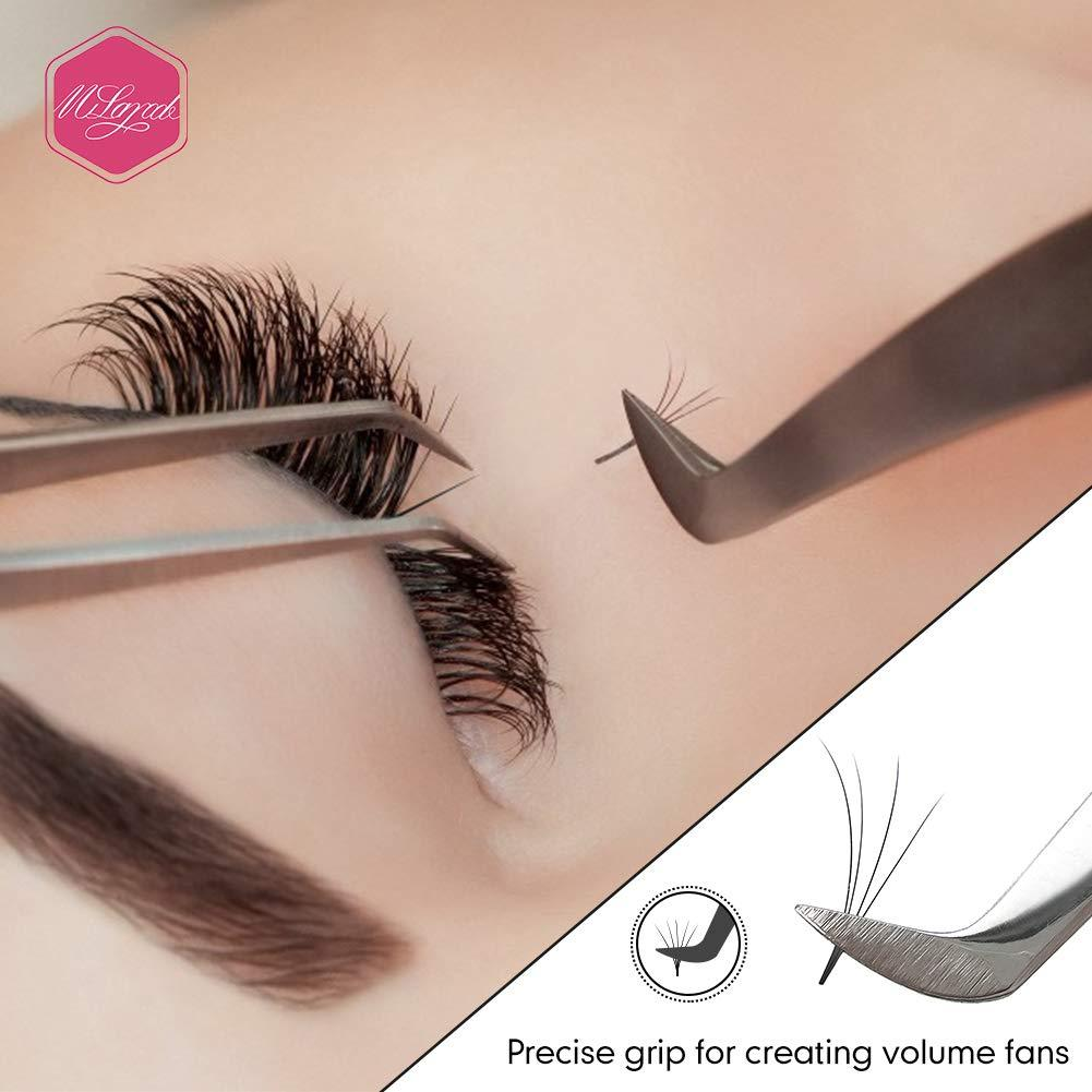 3D 6D Volume Lash Extension Tweezers AS09 - Misslamode