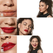 b. Fabulous Red Lip & Gold Eye Set - ONE CLICK b.EAUTY