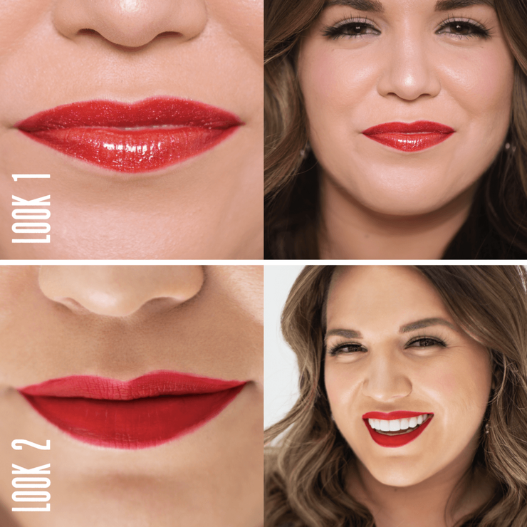 Sassy Red Lip Kit - ONE CLICK b.EAUTY