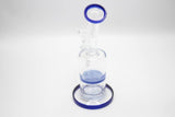 Blue Water Beaker Glass | 7 Inch