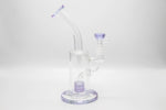 Purple MH Water Beaker Glass | 9 Inch