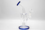 FM8 Series  Blue Water Beaker Glass | 9 Inch
