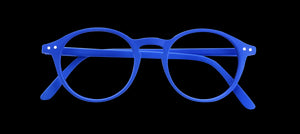Izipizi #D Reading Glasses Blue Cobalt