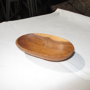 Oval Wooden Bowl Small