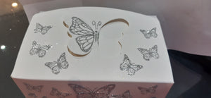 Silver Butterfly Gift boxes