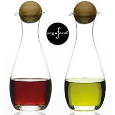 Sagaform Glass Oil and Vinegar Set