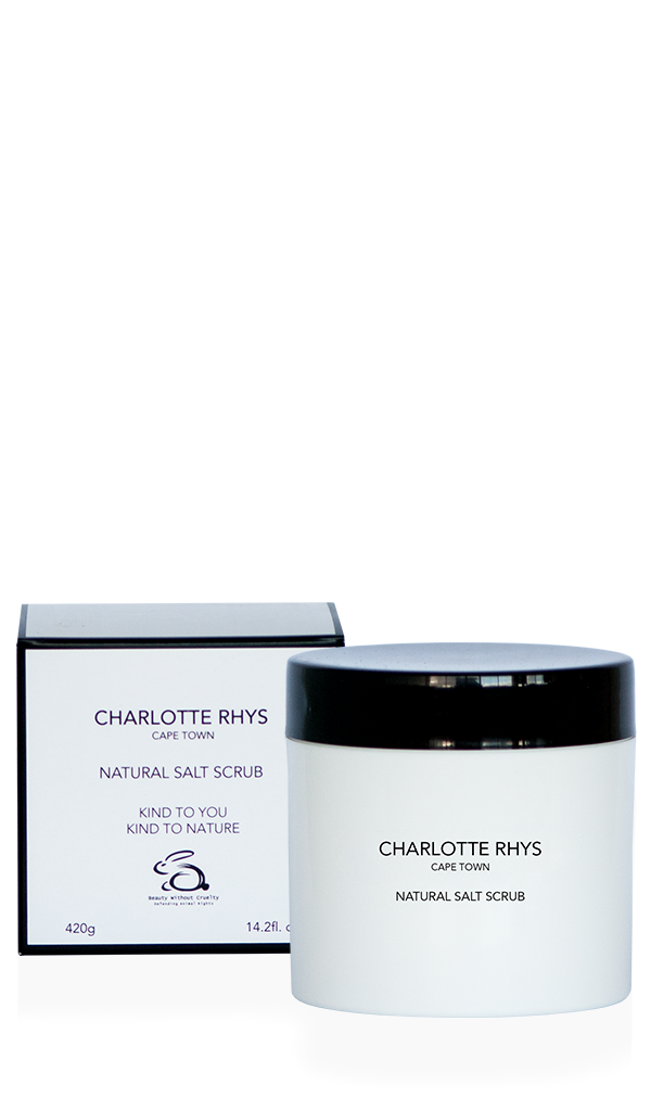 Charlotte Rhys Natural Salt Scrub Box