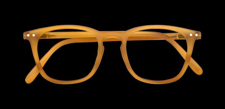 Izipizi #E Reading Glasses Crystal Yellow