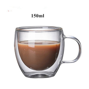 Double Wall Glass Coffee