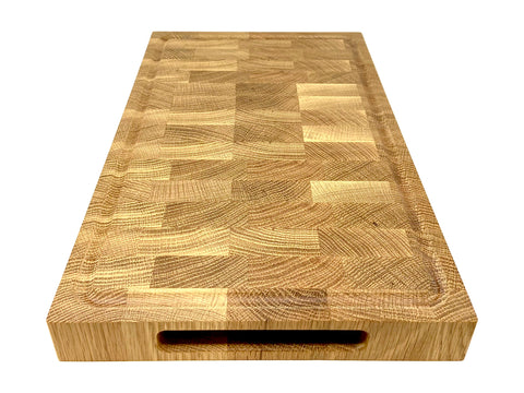 White Oak End Grain cutting board