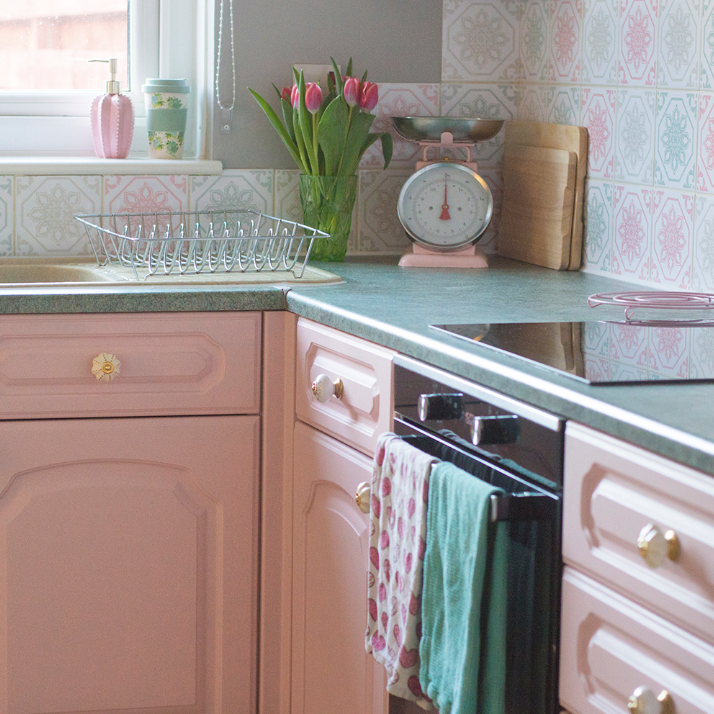 Mini Kitchen Makeover