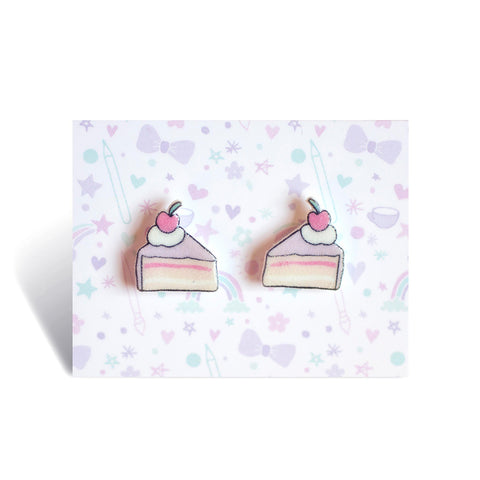 Cake Slice Earrings