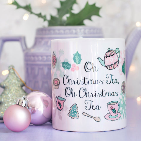 Christmas Tea Quote Mug