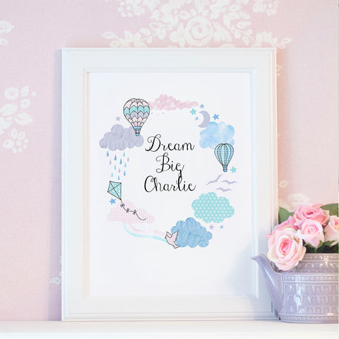 Every Cloud Personalised Print