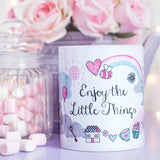 Little Things Quote Mug