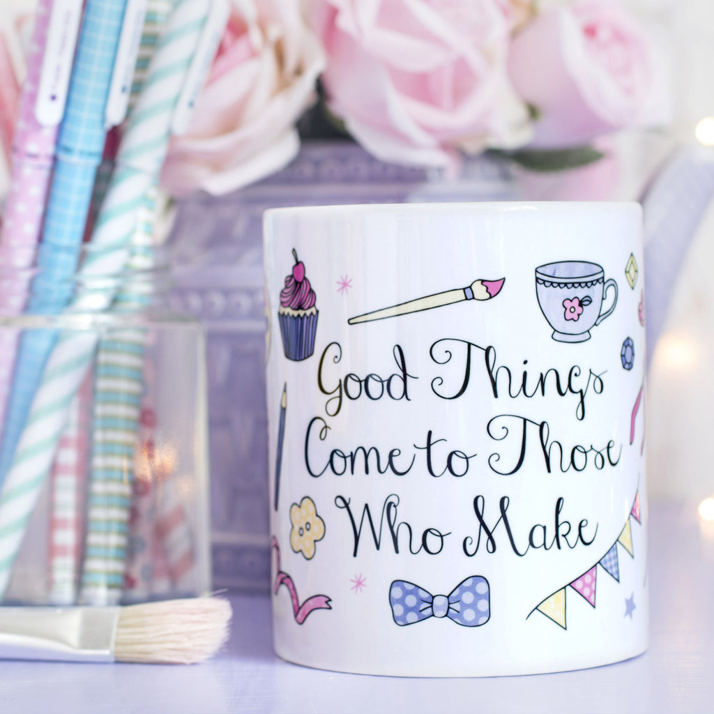 Those Who Make Quote Mug