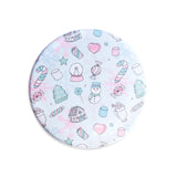 Marshmallow World Pocket Mirror