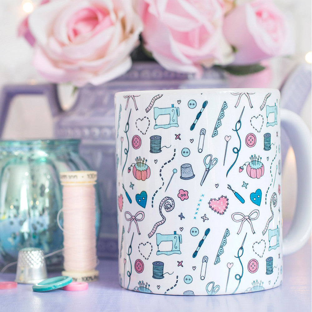 Those Who Sew Pattern Mug