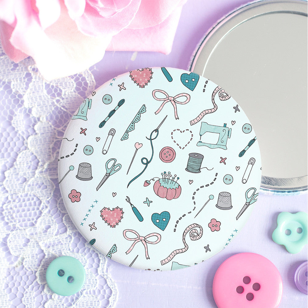 Those Who Sew Pocket Mirror