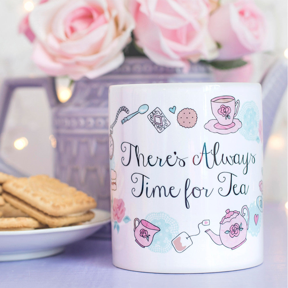 Time for Tea Quote Mug