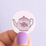 Time for Tea Badges