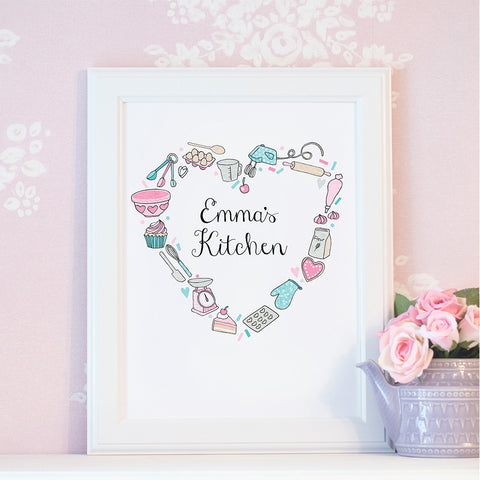 Those Who Bake Personalised Print