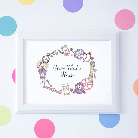 Time You Enjoy Personalised Print