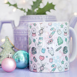 Marshmallow World Pattern Mug