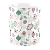 Oh Christmas Tea Pattern Mug