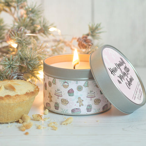 Mince Pie Candle Tin {Limited Edition}