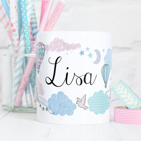 Every Cloud Mug Personalised