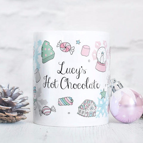 Personalised Marshmallow World Mug