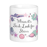 Look for Stars Quote Mug