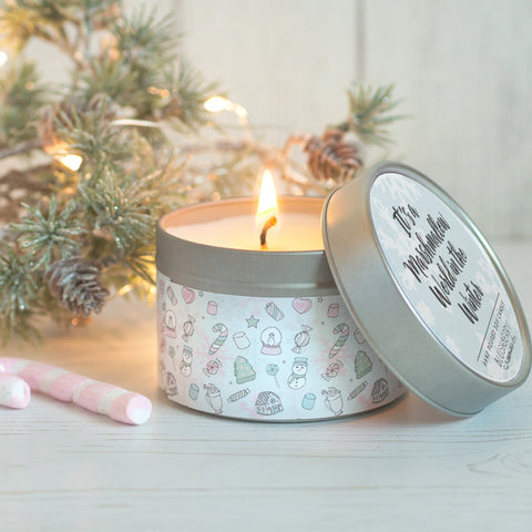 Candy Cane Candle Tin {Limited Edition}