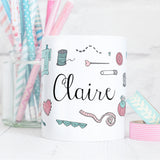 Those Who Sew Mug Personalised