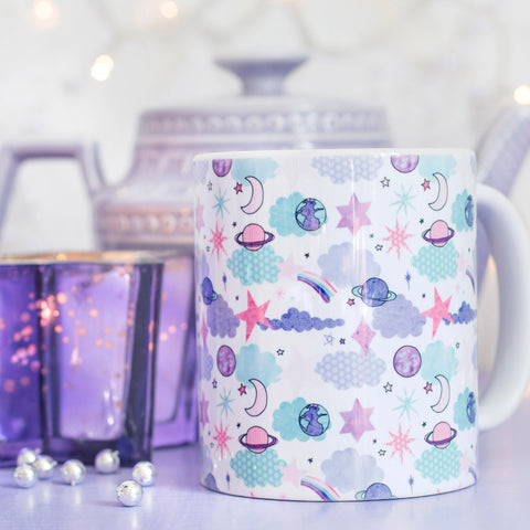 Look for Stars Pattern Mug